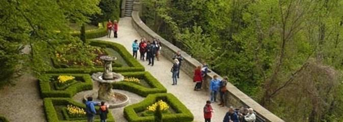 Na zamku Książ