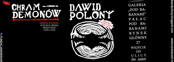 Wystawa prac Dawida Polonego