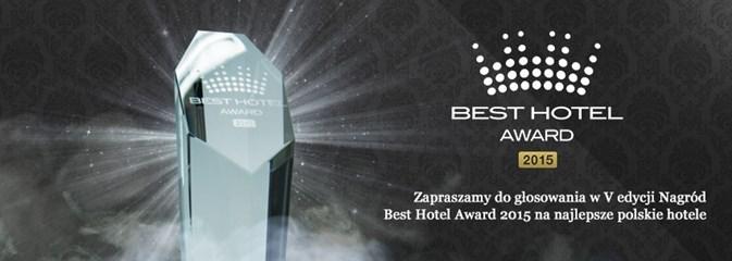 Plebiscyt Best Hotel Award 2015