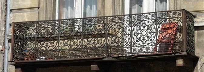 Łódź. Balkony, balkony...
