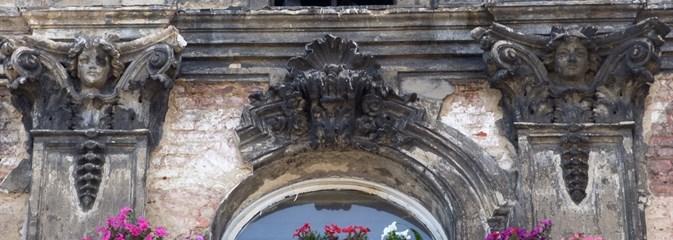 Fragment kamienicy Nasielskich w Łodzi