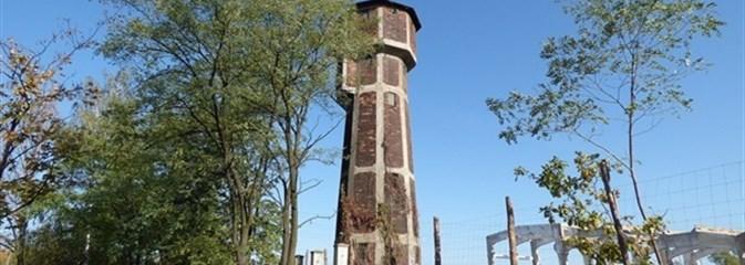 Łódź. Zabytkowa wieża ciśnień