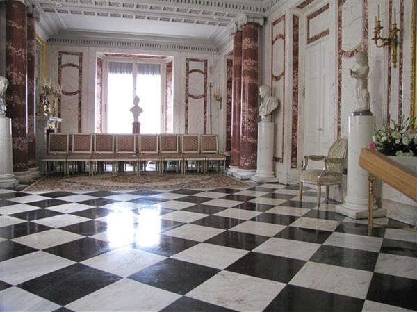 Warszawa łazienki Królewskie Pałac Myślewicki Wnętrze