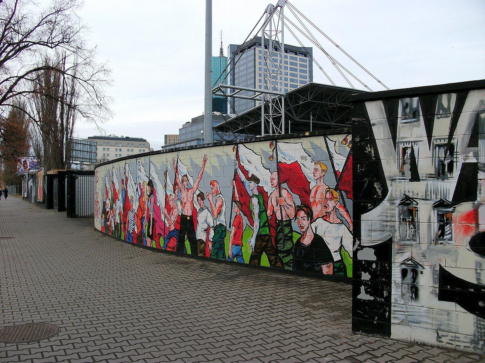 galeria zdj warszawa mural graffiti 44 polska niezwyk a